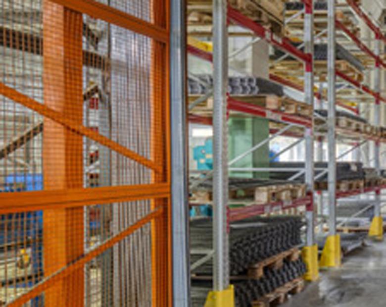 Wire Mesh in Warehousing
