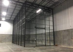 DEA compliant caging