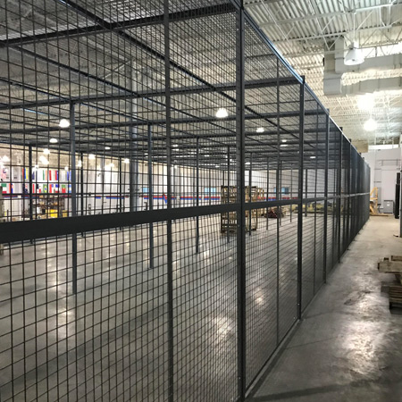Wire Cage from Security Caging