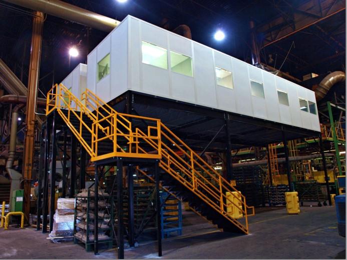 International-vault-mezzanine-system