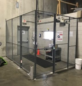 Security Caging Driver Cage International Vault