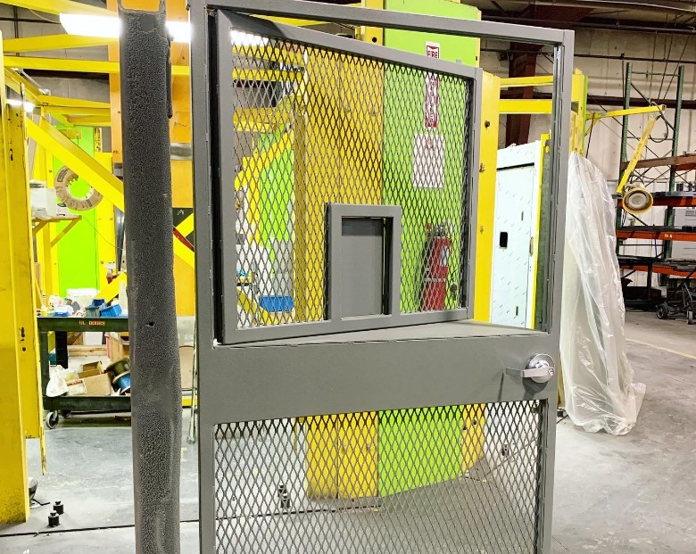 Security Caging Gate