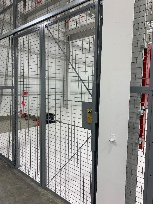 cage slide door